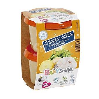 Baby Smile Pescadilla a la crema tarrito 2x200 gr