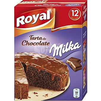 Royal Preparado para hacer tarta de chocolate con Milka Estuche de 12 raciones 350 g