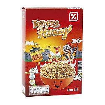 DIA Cereales de trigo inflado con miel paquete 500 gr Paquete 500 gr