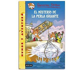 Destino Stilton 71: El misterio de la perla gigante