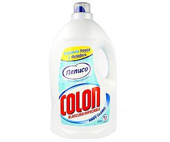 Colón Detergente máquina líquido concentrado gel Nenuco hipoalergénico botella 50 dosis Botella 50 dosis
