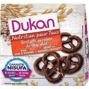 Dukan Lazos de salvado de avena con chocolate baja materia grasa  Envase 100 g