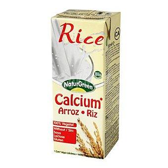 Naturgreen Bebida de arroz y calcio 200 ml