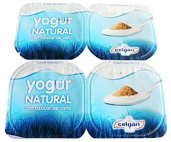 Celgán Yogur natural azucarado 4 x 125 g