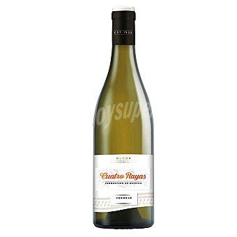 Cuatro Rayas Vino blanco fermentado en barrica DO Rueda Botella 75 cl