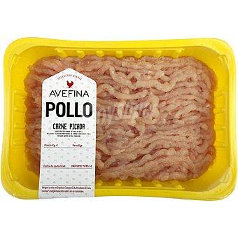 Avefina Carne picada de pollo peso aproximado bandeja 550 g Bandeja 550 g