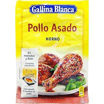 Gallina Blanca Sazonador de pollo asado al horno sobre 32 g Sobre 32 g