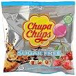 Caramelo con palo mini fresa sugar free Bolsa 6 uds Chupa Chups