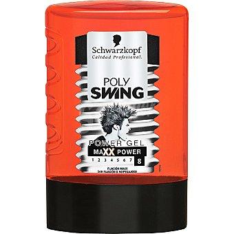 Polyswing Schwarzkopf Power gel fijacion Maxx frasco 300 ml Frasco 300 ml