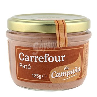Carrefour Paté de campaña 125 g