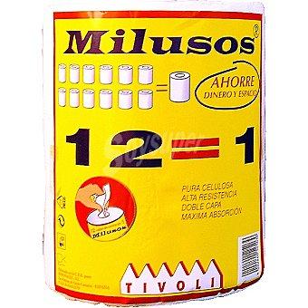 Tivoli rollo de cocina mil usos doble capa paquete 1 rollo paquete 1 rollo