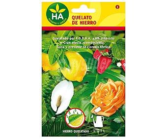 HA-Huerto y Jardín Sobre de 2.5 gramos de quelato de hierro soluble jardín