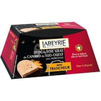 Labeyrie Foie Gras de pato con trozos Tarrina 195 g + Cortador