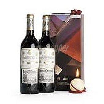 TInto Reserva Rioja MARQUÉS de RISCAL Vino Pack 2x75 cl