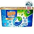 Detergente máquina líquido limpieza profunda 4 en discs Caja 30 dosis Wipp Express