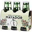 Sidra refrescante asturiana Pack 6 x 25 cl Mayador