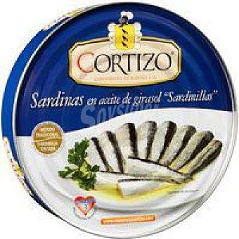 Cortizo Sardinilla en aceite vegetal Lata 396 g