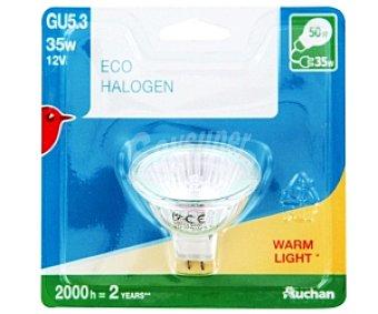 Auchan Bombilla EcoHalógena Reflectante 12V GU 5.3 35W 1 Unidad