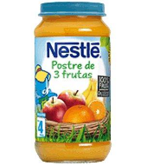 Nestlé Tarrita postre 3 frutas 250 g