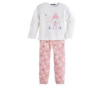 In Extenso Pijama polar largo de niña talla 3