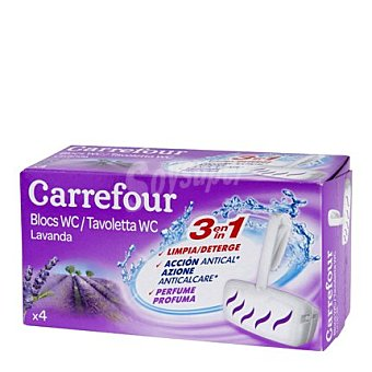 Carrefour Colgador WC Aroma Lavanda 4 ud