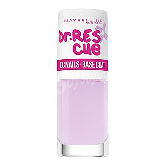 Maybelline New York Tratamiento uñas Dr. Rescue CC nails - base coat 1 ud