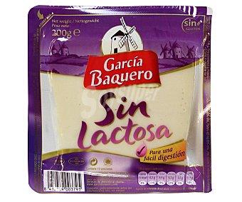 García Baquero Queso tierno mezcla sin lactosa 200 Gramos
