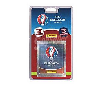 Panini 10 sobres de cromos coleccionables de la colección Uefa Eurocopa Francia 2016 Pack de 10 sobres