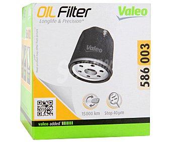 VALEO Filtro de Aceite Modelo 586003 1 Unidad