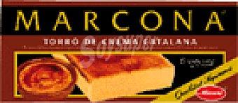 Marcona Turrón de crema catalana 300 GRS