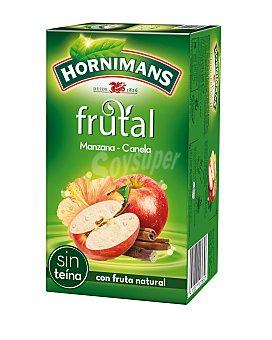 Hornimans Infusión frutal manzana - canela sin teína Estuche 20 bolsitas
