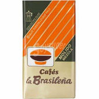 BRASILEÑA Italia Café molido mezcla 60/40 Paquete 250 g