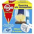 Insecticida eléctrico antimosquitos en pastillas 1 unidad 10 pastillas Fogo