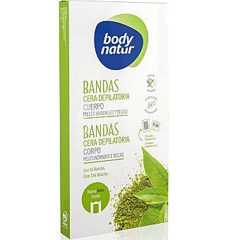 Body Natur Bandas corporal te matcha 16 unidades