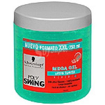 Polyswing Schwarzkopf gel ultra fuerte formato XXL Mega Tarro 750 ml