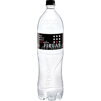 Firgas Volcano agua mineral natural con gas extra  botella 1,5 l