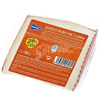 Hipercor Queso puro de cabra elaborado con leche pasteurizada cuña 250 g 250 g