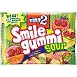 Caramelos de goma con zumo de frutas y vitaminas sabor ácido Bolsa 100 g NIMM2 smile gummi