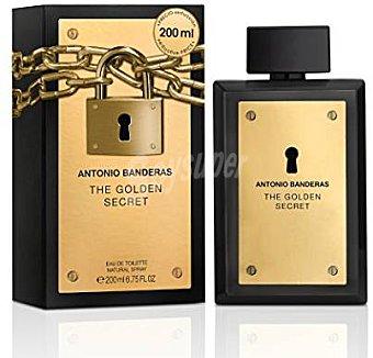 Antonio Banderas Eau Toilette hombre Golden Secret  vaporizador 200 cc