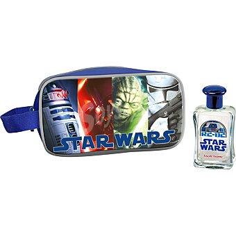 STAR WARS eau de toilette infantil + neceser spray 50 ml
