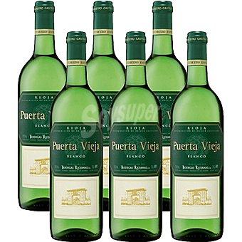 PUERTA VIEJA Vino blanco D.O. Rioja Caja de 6 botellas de 75 cl