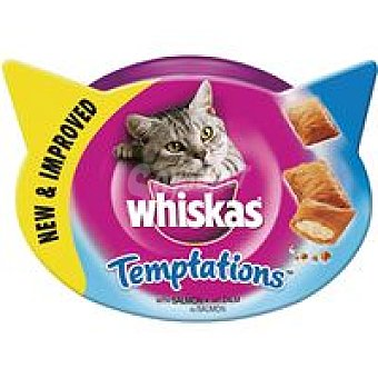 Whiskas Tempations de salmón Tarrina 60 g