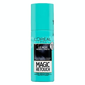 L'Oréal Retoca raices magic retouch le noir instantaneo en spray (tono negro) Botella 75 ml