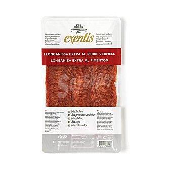 Exentis Can Durán Longaniza al pimenton de categoria extra, cortada en finas lonchas 100 g