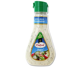 Calvé Salsa para ensaladas de yogur Botella 235 ml