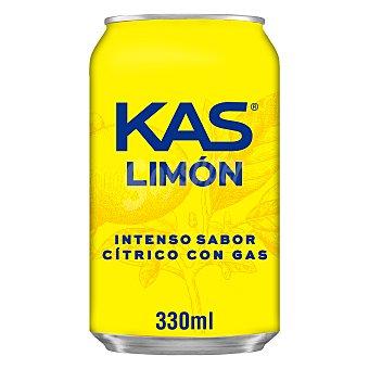 Kas Refresco de limón Lata 33 cl