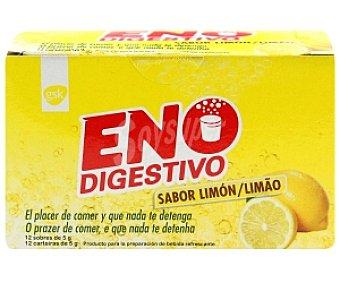 ENO Digestivo sabor limón 12 Sobres 70 Gramos