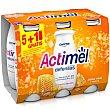Yogur líquido jalea real y avena Pack 6 x 100 g Actimel Danone