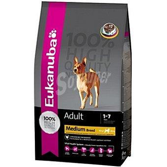 EUKANUBA ADULT MEDIUM BREED Alimento completo para perro adulto de razas medianas con cordero y arroz Bolsa 3 kg