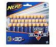 Dardos de foam para pistolas Nerf Elie, incluye dos tipos de dardos Pack de 30 Nerf